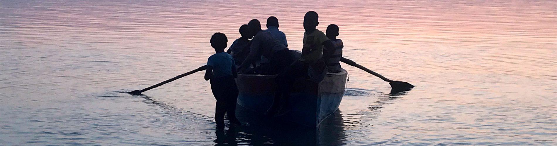 Mozambique boat